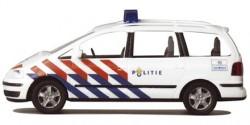 VW Sharan Polizei Niederlande