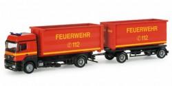 Mercedes Benz Axor Abrollmulden-HZ Feuerwehr