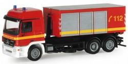 Mercedes Benz Actros L Abrollcontainer LKW Feuerwehr