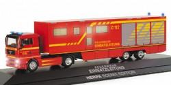 MAN TGA XL Koffer-Sattelzug ELW Feuerwehr Scenix
