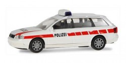 Audi A6 Avant Polizei Schweiz