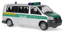 VW T5 Polizei 'Ende der Kolonne'