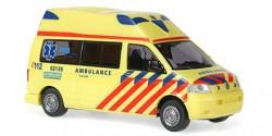VW T5 Hornis Silver RTW Ambulance Friesland Niederlande