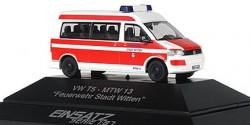VW T5 MTF Feuerwehr Stadt Witten