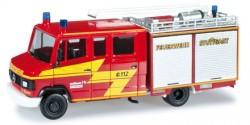 Mercedes Benz 814D LF 8/6-2 Feuerwehr Stuttgart Weilimdorf