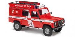 Land Rover Defender Höhenrettung Feuerwehr Reutlingen