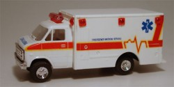Chevrolet Van EMS Medical Service Ambulance