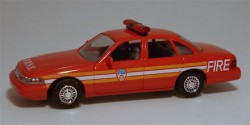 Ford Crown Victoria Fire Department New York