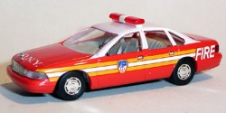 Chevrolet Caprice Fire Department New York