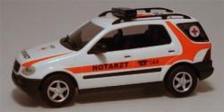 Mercedes Benz M-Klasse NEF vom ÖRK