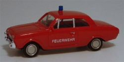 Ford Taunus Badewanne Feuerwehr ELW