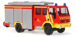 Iveco Magirus EuroFire HTLF Feuerwehr Ville de Luxembourg