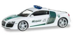 Audi R8 Police Dubai