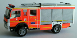 Mercedes Benz Atego HLF Feuerwehr Hamburg Altona