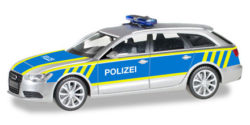 Audi A6 Avant Autobahnpolizei Sachsen Anhalt
