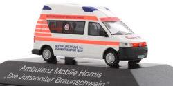 VW T5 RTE Die Johanniter Braunschweig