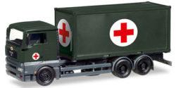 MAN TGA XL WLF mit Sanitätscontainer Bundeswehr