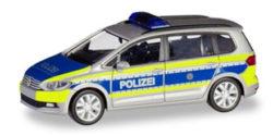 VW Touran Polizei Nordrhein-Westfalen